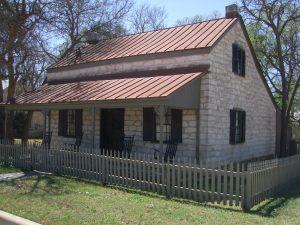 Fredericksburg limestone house