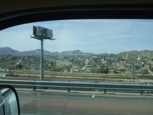 Juarez, Mexico, just across the river from El Paso, Texas