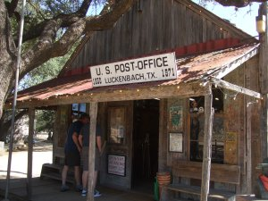 """I'm goin' to Luckenbach, Texas, with Waylan an' Willie and the Boys."""