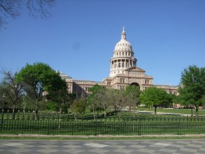 Texas State Capital in beautiful Austin