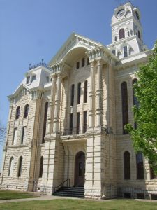 Beautiful Hill County Courthouse, Hillsboro, Texas