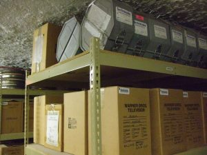 Underground Hollywood film storage