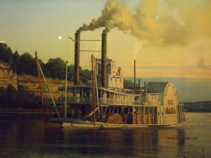 Missouri River steamboat Great White Arabia