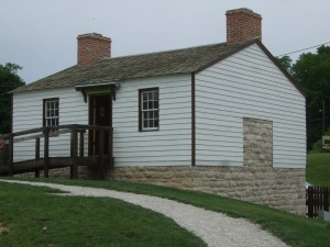 Huckleberry Finn home, restored