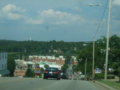 Downtown Branson by the river