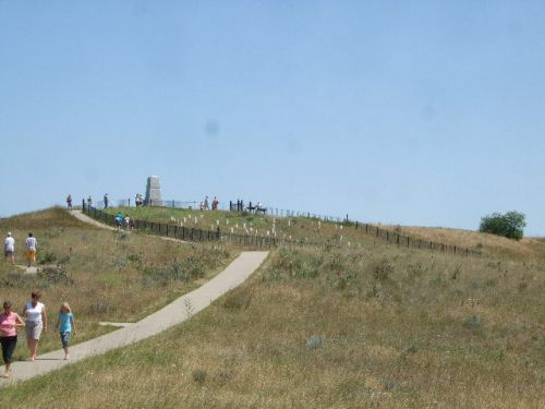 Battle site at Little Bighorn