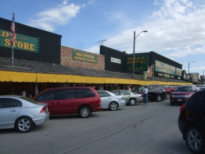 Yes, that's ALL Wall Drug!