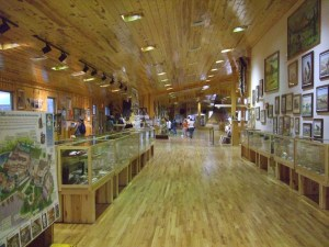 Interpretive Center--all pine!