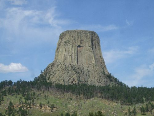 Approaching Devil's Tower